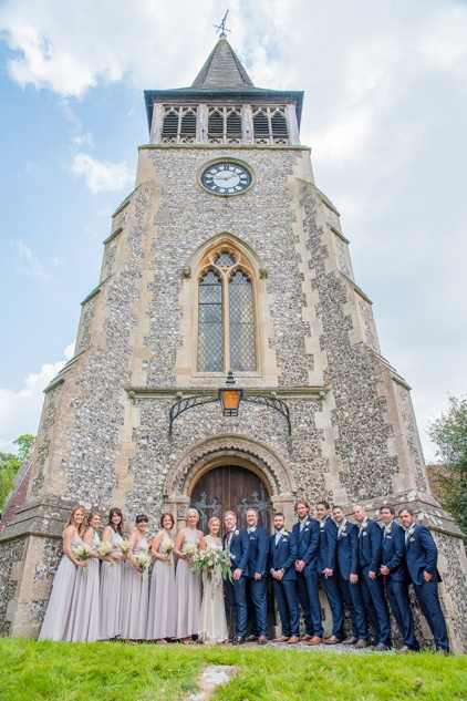Wickham Church Wedding