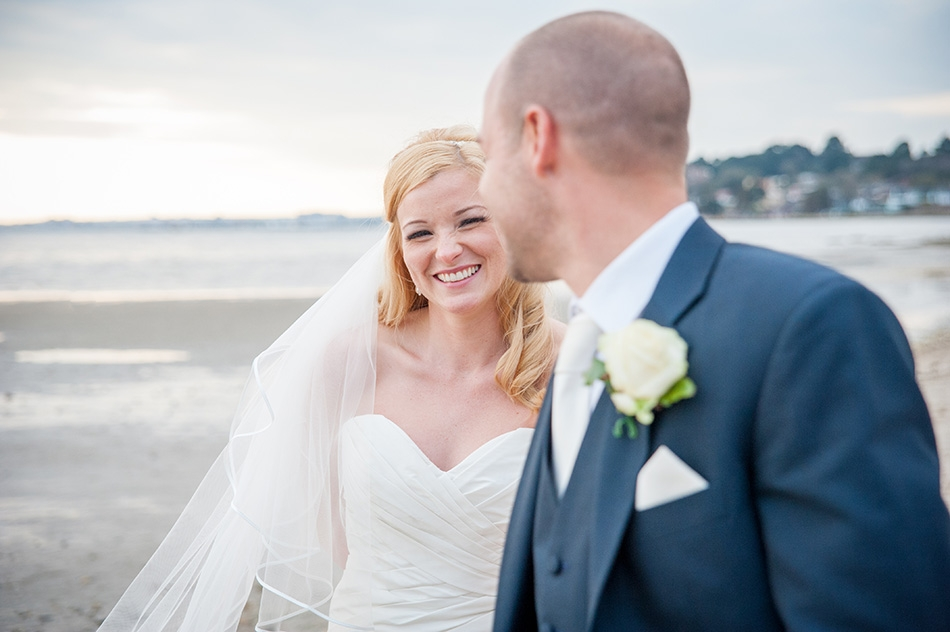 Beach Wedding Photography, Poole