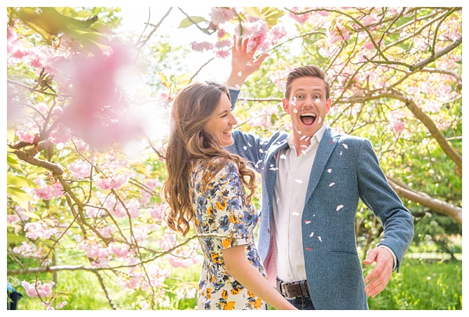 Kew Gardens Engagement Photography, London Wedding Photographer _ The Cole Portfolio 1