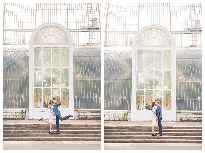 Kew Gardens Engagement Photography, London Wedding Photographer _ The Cole Portfolio 4
