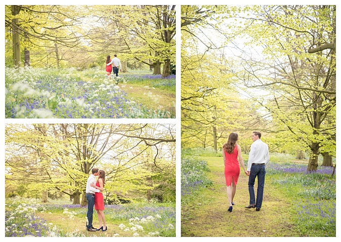 Kew Gardens Engagement Photography, London Wedding Photographer _ The Cole Portfolio 11
