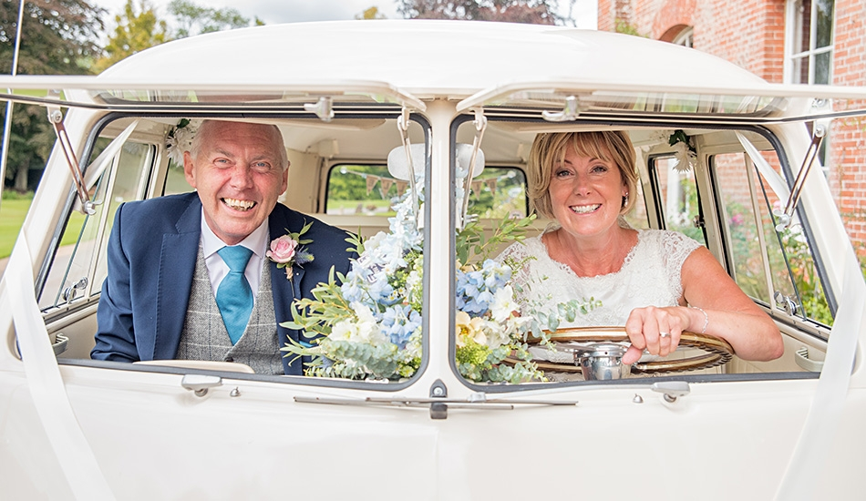 Camper Van Wedding Photography Hampshire