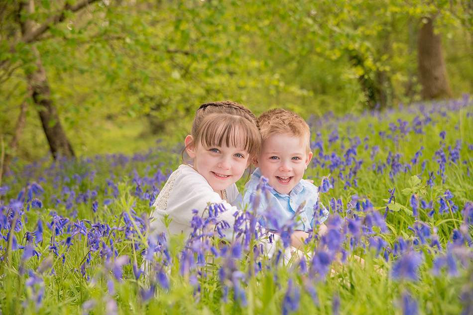 Family Photography in Bluebells, Hampshire
