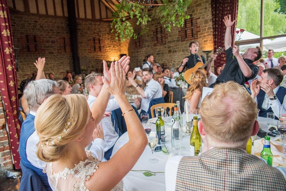 Amazing Singing Waiters