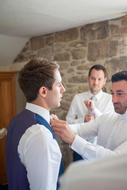 Chypraze Barn Wedding Preparation, Cornish Wedding Photography