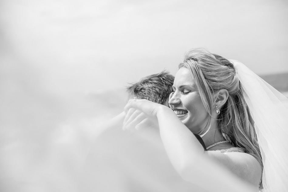 Cornish Beach Wedding Photography